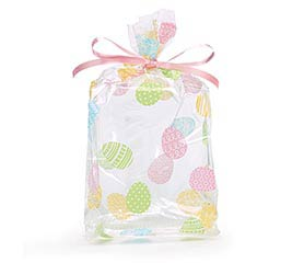 "OVER EASY EASTER EGG CELLO BAG 7""H X 3""W"