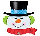 "36"" PKG SNOWMAN HEAD SHAPE"
