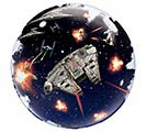 "24"" PKG STAR WARS DEATH STAR BUBBLE 2nd Alternate Image"