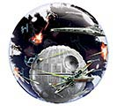 "24"" PKG STAR WARS DEATH STAR BUBBLE"