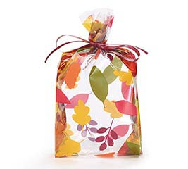 """7"""" SMALL AUTUMN LEAVES CELLO BAGS"""