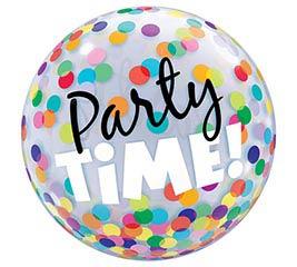 """22"""" PKG PARTY TIME BUBBLE"""