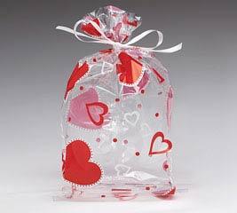 """HEART TO HEART CELLO BAG 7""""H X 3""""W"""