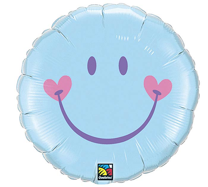 "18"" SWEET SMILE BLUE"