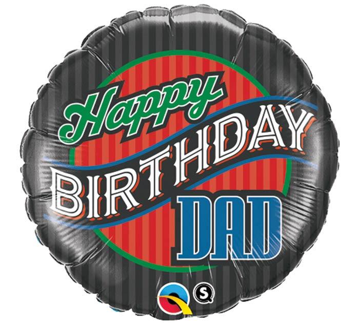 "18""PKG HBD DAD"
