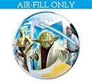 """12""""FLAT STAR WARS BUBBLE AIR FILL ONLY 1st Alternate Image"""