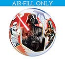 "12""FLAT STAR WARS BUBBLE AIR FILL ONLY"