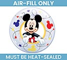 """12"""" MICKEY MOUSE BUBBLE AIR FILL ONLY 1st Alternate Image"""