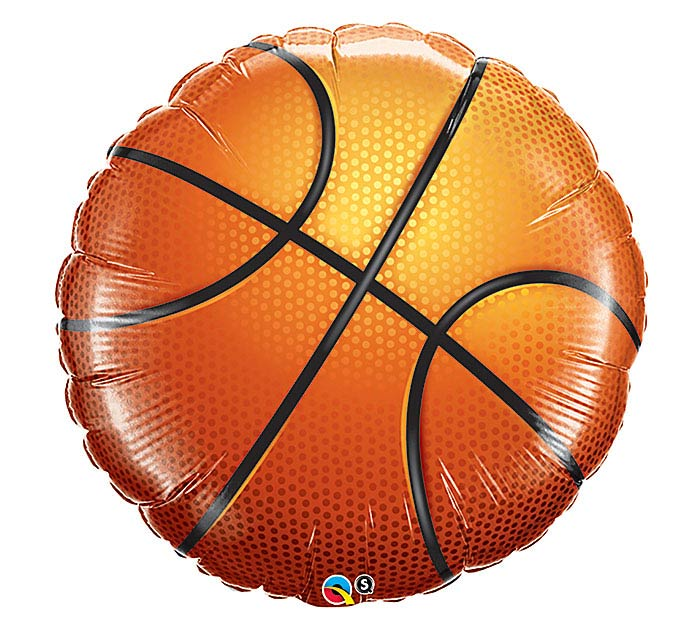 "36"" PACKAGED BASKETBALL BALLOON"