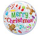 "22"" PKG MERRY CHRISTMAS BUBBLES"