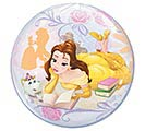 "22"" PKG BELLE PRINCESS BUBBLE BALLOON 1st Alternate Image"