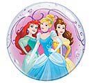 "22"" PKG DISNEY PRINCESS BUBBLE BALLOON"