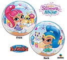 "22""PKG CHA SHIMMER  SHINE BUBBLE"