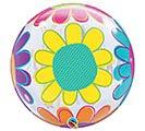 """22""""PKG HMD BIG FLOWERS BUBBLE 1st Alternate Image"""