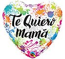 "18""SPA TE QUIERO MAMA COLOR SPLASHES"