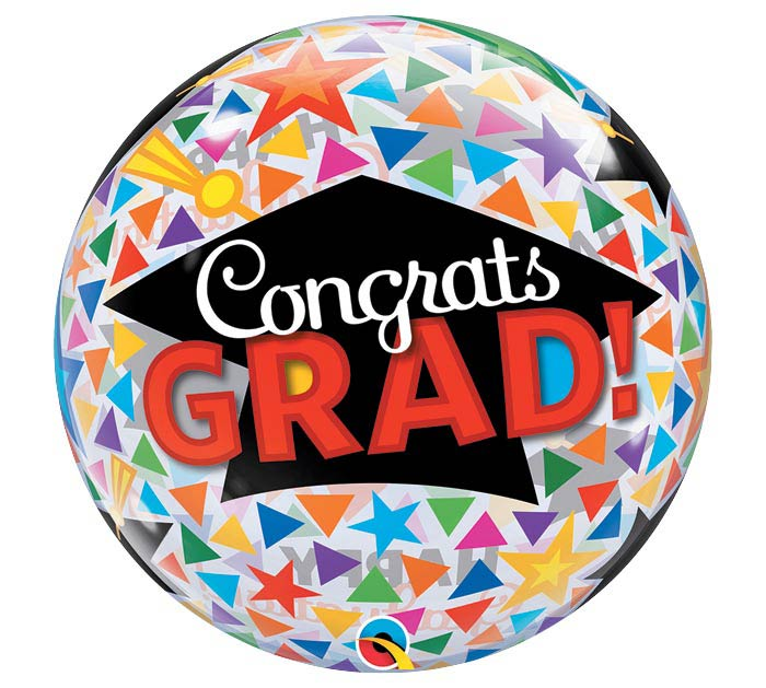 22 pkg grad congrats grad bubble