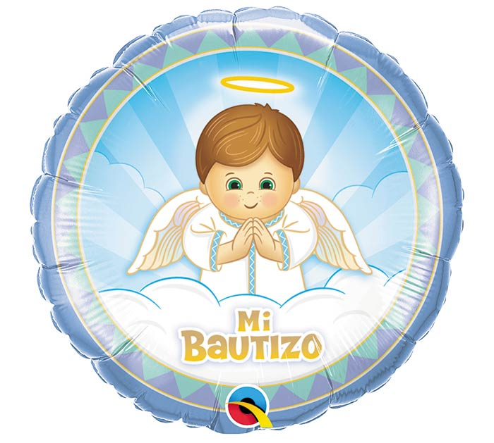 "18""PKG SPA MI BAUTIZO ANGEL NINO"