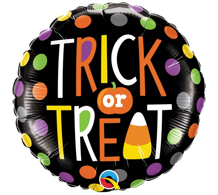 """18""""HAL TRICK OR TREAT DOTS"""