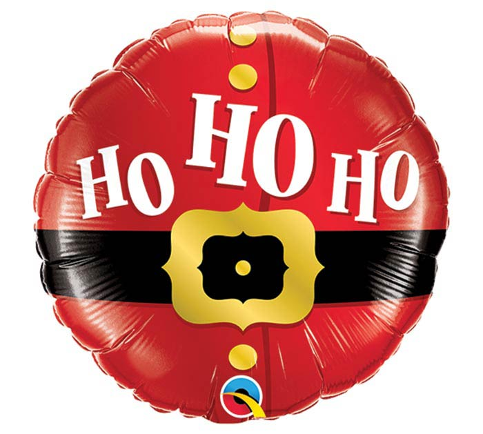 "9""INFLATED HO HO HO SANTA'S BELT"