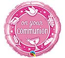 "18""REL ON YOUR COMMUNION PINK"