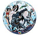 "22"" PKG JUSTICE LEAGUE BUBBLE BALLOON"