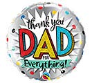 "18"" THANK YOU DAD FOR EVERYTHING"