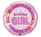 "18""PKG HBD BIRTHDAY GIRL PINK"