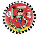 "18""PKG HBD RACHEL ELLEN AGE 5 PIRATE"