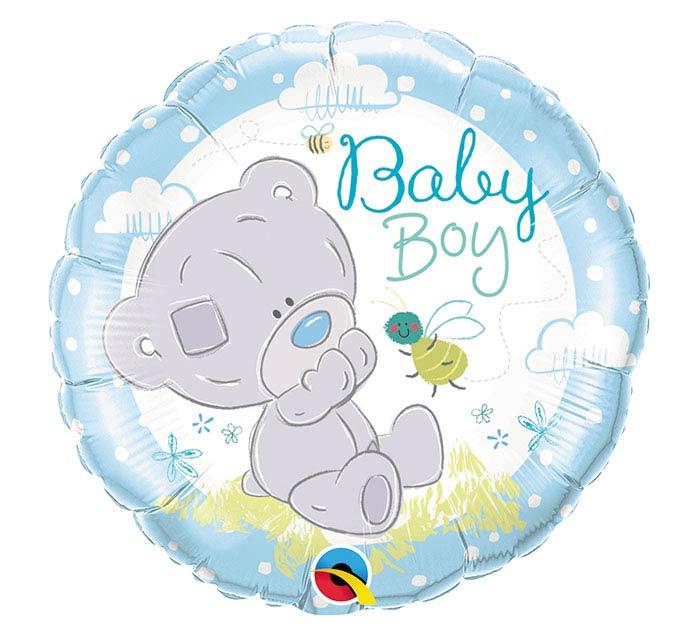 "18""PKG BBY TINY TATTY TEDDY BABY BOY"