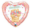 "18""PKG HBD FOREVER FRIENDS BIRTHDAY BEAR"