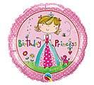 """18""""PKG HBD RACHEL ELLEN PRINCESS"""