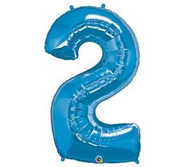 """34""""PKG SAPPHIRE BLUE TWO"""