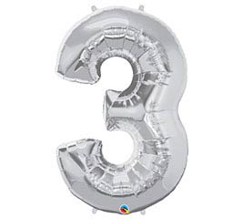 "34""PKG SILVER THREE"