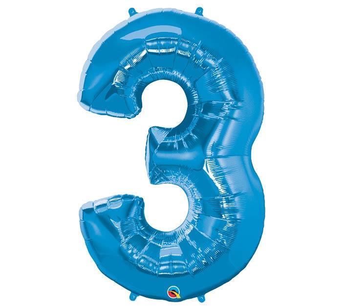 "34""PKG SAPPHIRE BLUE THREE"