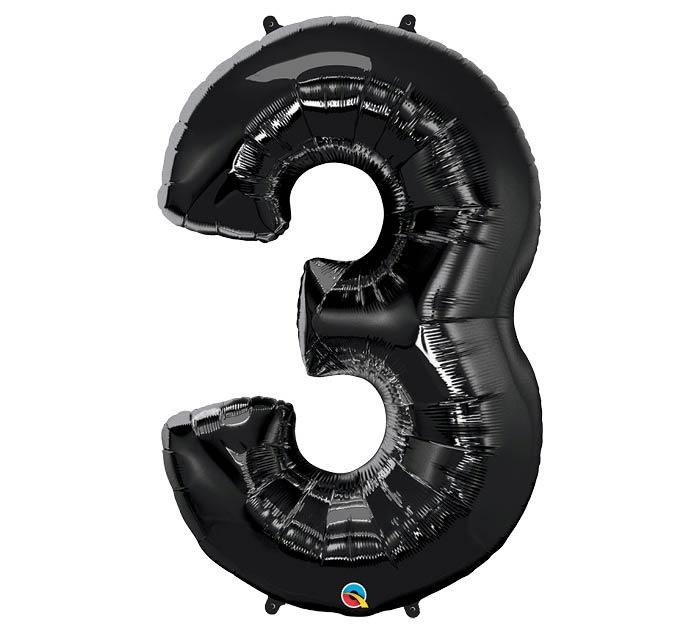 """34""""PKG ONYX BLACK THREE"""