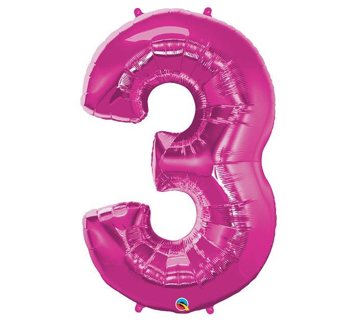 "34""PKG MAGENTA THREE"