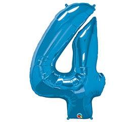 """34""""PKG SAPPHIRE BLUE FOUR"""