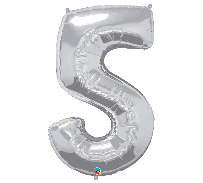 "34""PKG SILVER FIVE"