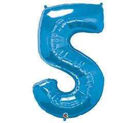 """34""""PKG SAPPHIRE BLUE FIVE"""