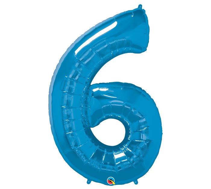 "34""PKG SAPPHIRE BLUE SIX"