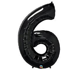"""34""""PKG ONYX BLACK SIX"""