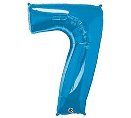 """34""""PKG SAPPHIRE BLUE SEVEN"""