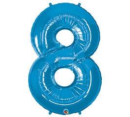 """34""""PKG SAPPHIRE BLUE EIGHT"""