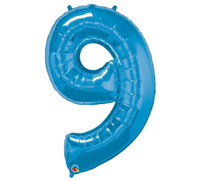 "34""PKG SAPPHIRE BLUE NINE"