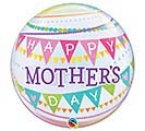 "22""PKG HMD MOTHER'S DAY PENNANTS BUBBLE"