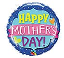 "18""HMD MOTHER'S DAY EMBLEM BANNER"