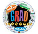 "22""PKG GRAD CONGRATS GRAD BUBBLE 1st Alternate Image"