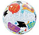 "22""PKG GRADUATION ACCOLADES BUBBLE"