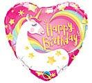 "18""PKG HBD BIRTHDAY MAGICAL UNICORN"
