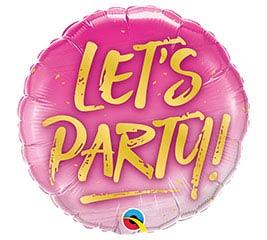 """18""""PKG PTY LET'S PARTY"""